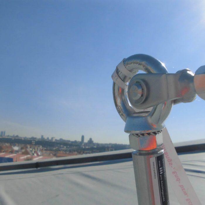 Línea de vida, deck - LUXTOP Sistemas Anticaídas, Calle Talabarteros,Herencia, España