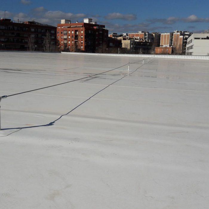 Línea de vida, deck - LUXTOP Sistemas Anticaídas,Calle Talabarteros, Herencia, España