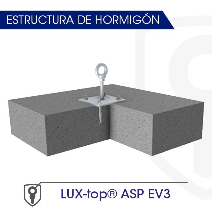 LUX-top ASP EV3 estructura de hormigón - LUXTOP Sistemas Anticaídas, Calle Talabarteros, Herencia, España