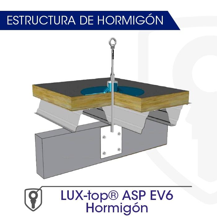 LUX-top ASP EV6 hormigón estructura de hormigón - LUXTOP Sistemas Anticaídas, Calle Talabarteros, Herencia, España