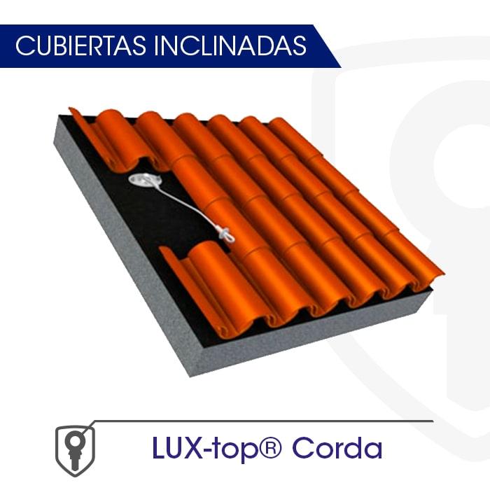 LUX-top Corda Cubiertas inclinadas - LUXTOP Sistemas Anticaídas, Calle Talabarteros, Herencia, España