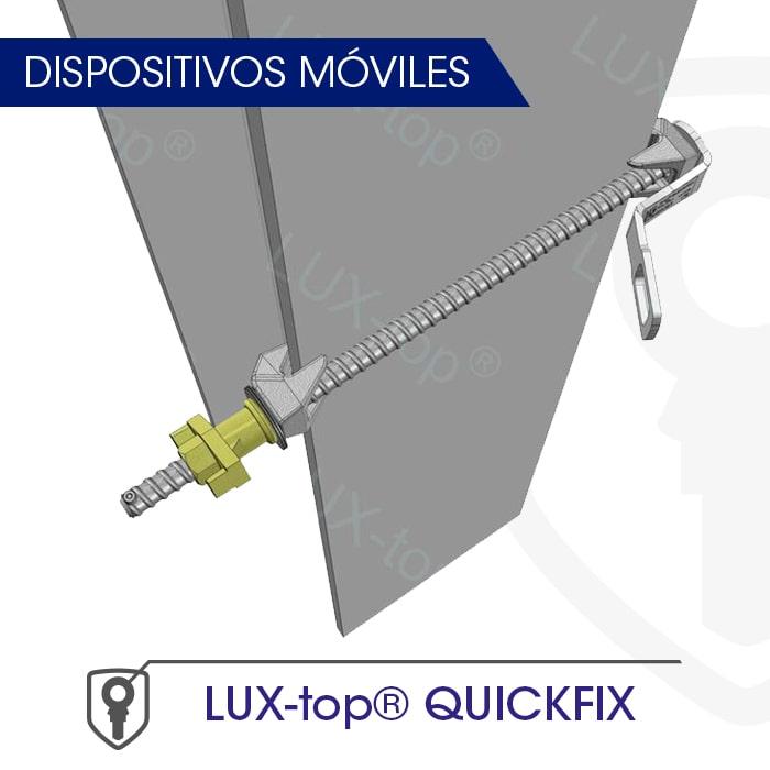 LUX-top QUICKFIX Dispositivos móviles - LUXTOP Sistemas Anticaídas, Calle Talabarteros, Herencia, España