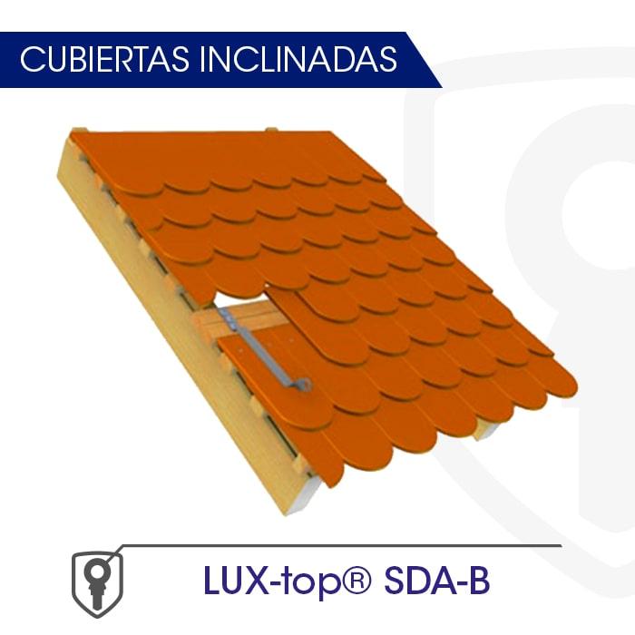 LUX-top SDA-B Cubiertas inclinadas - LUXTOP Sistemas Anticaídas, Calle Talabarteros, Herencia, España
