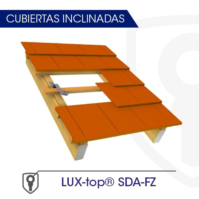 LUX-top SDA-FZ Cubiertas inclinadas - LUXTOP Sistemas Anticaídas, Calle Talabarteros, Herencia, España
