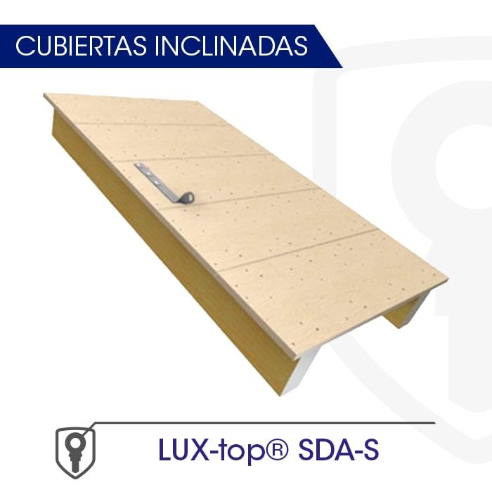 LUX-top SDA-S Cubiertas inclinadas - LUXTOP Sistemas Anticaídas, Calle Talabarteros, Herencia, España
