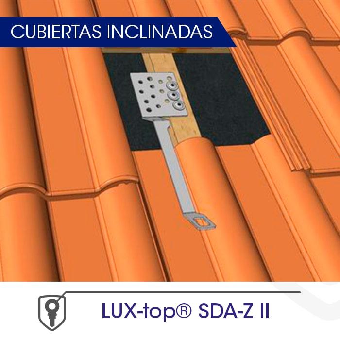 LUX-top SDA-Z II Cubiertas inclinadas - LUXTOP Sistemas Anticaídas, Calle Talabarteros, Herencia, España