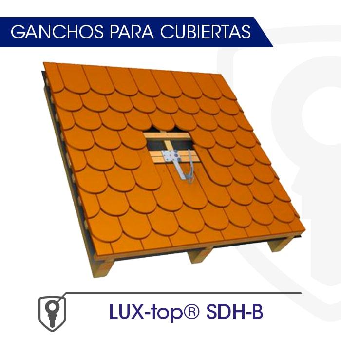 LUX-top SDH-B Ganchos para cubiertas - LUXTOP Sistemas Anticaídas, Calle Talabarteros, Herencia, España