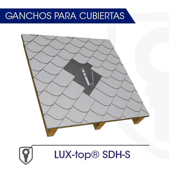 LUX-top SDH-S Ganchos para cubiertas - LUXTOP Sistemas Anticaídas, Calle Talabarteros, Herencia, España