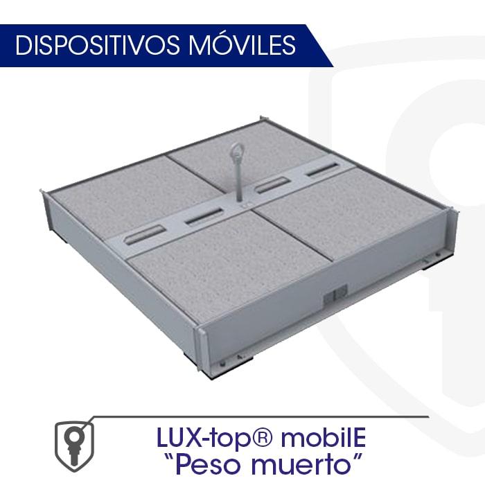 LUX-top mobilE Peso muerto Dispositivos móviles - LUXTOP Sistemas Anticaídas, Calle Talabarteros, Herencia, España