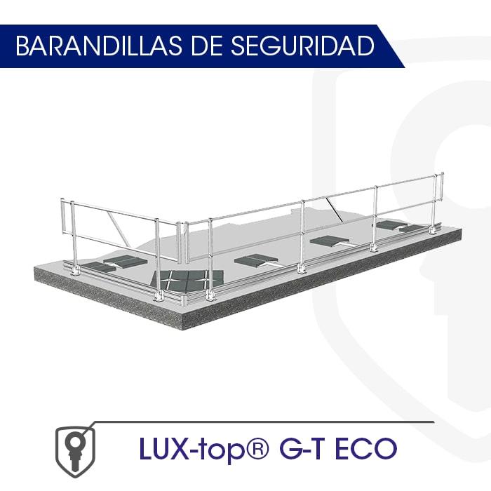 Barandilla montaje con Contrapeso - Fija LUX-top G-T ECO - LUXTOP Sistemas Anticaídas, Calle Talabarteros, Herencia, E