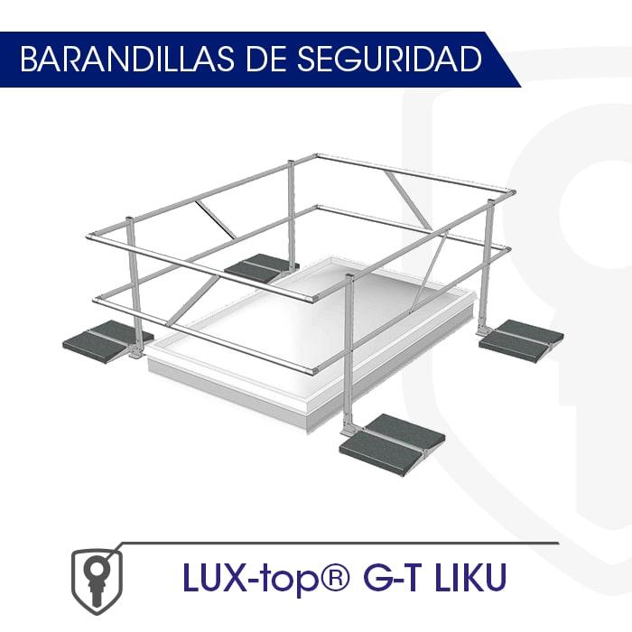 Barandilla montaje con Contrapeso - Fija LUX-top G-T LIKU - LUXTOP Sistemas Anticaídas, Calle Talabarteros, Herencia,