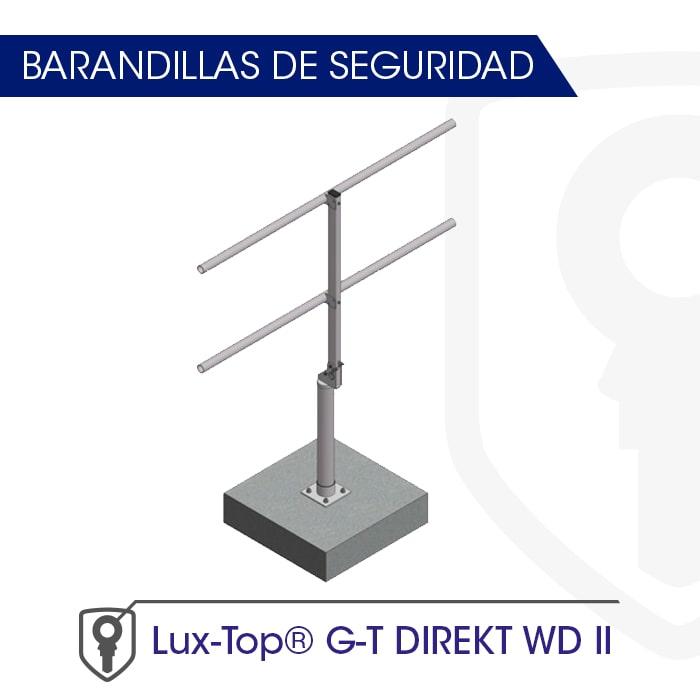 Barandilla montaje directo a soporte LUX-top G-T DIREKT WD II - LUXTOP Sistemas Anticaídas, Calle Talabarteros, Herencia