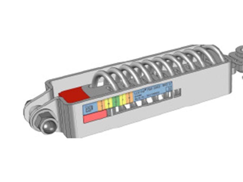 Componente línea de Vida con Cable LUXTOP Sistemas Anticaídas