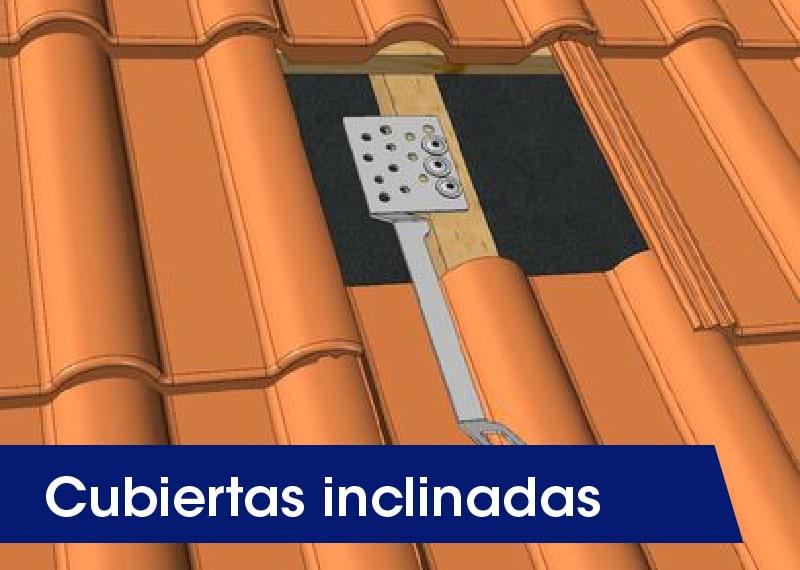 Cubiertas inclinadas - LUXTOP Sistemas Anticaídas, Calle Talabarteros, Herencia, España