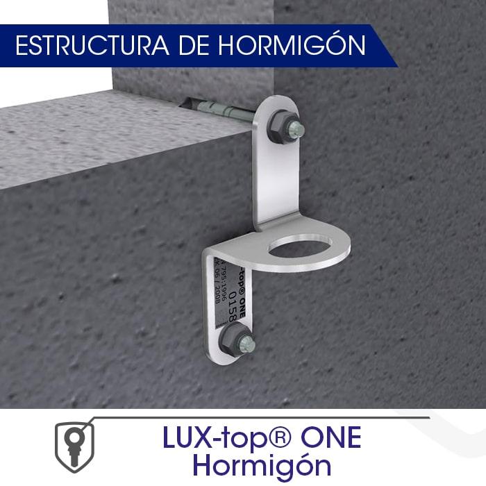 LUX-top ONE hormigón estructura de hormigón - LUXTOP Sistemas Anticaídas, Calle Talabarteros, Herencia, España