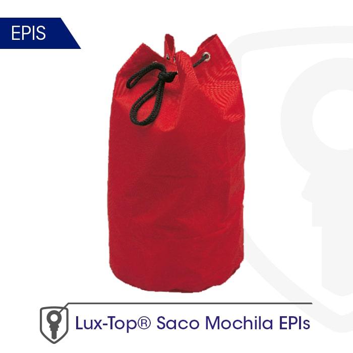 Saco mochila EPIs - LUXTOP Sistemas Anticaídas, Calle Talabarteros, Herencia, España