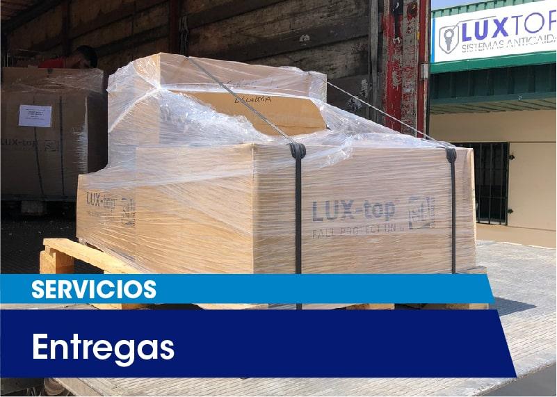 Servicios LUXTOP Entregas