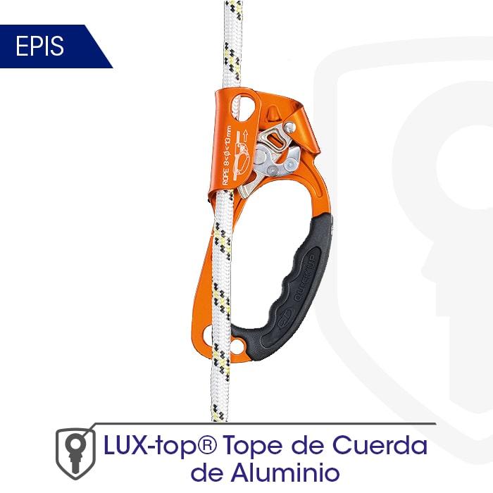 tope-de-cuerda-de-aluminio-mini- LUXTOP Sistemas Anticaídas, Calle Talabarteros, Herencia, España